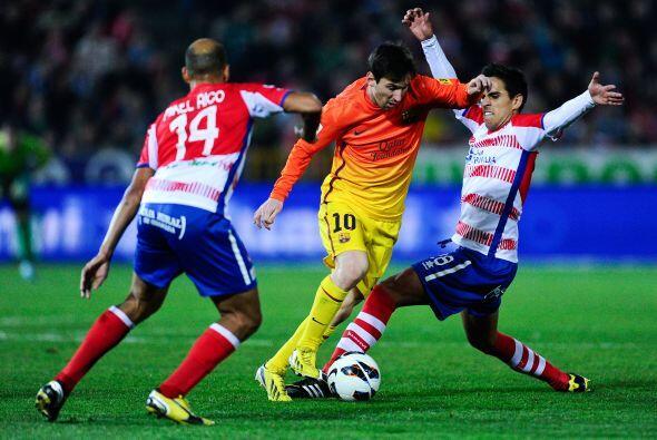 El crack del Barcelona dio otro de esos partidos dignos de las palmas, a...