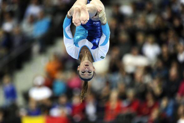 La brasileña Jade Fernández Barbosa terminó en la posición 15 con 55,665...
