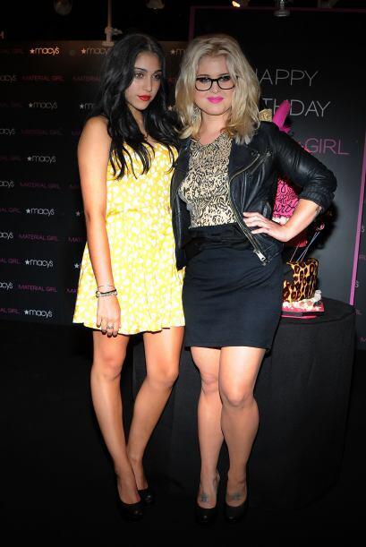Lourdes es muy amiga de Kelly Osbourne, seguro entre ellas se dan muchos...