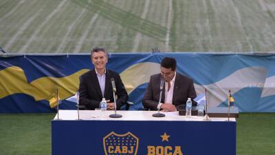 Mauricio Macri y Daniel Angelici
