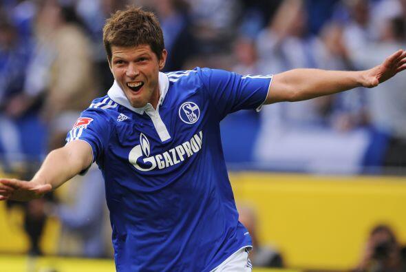 Dos goles fueron los que metió en contra del Nurnberg.