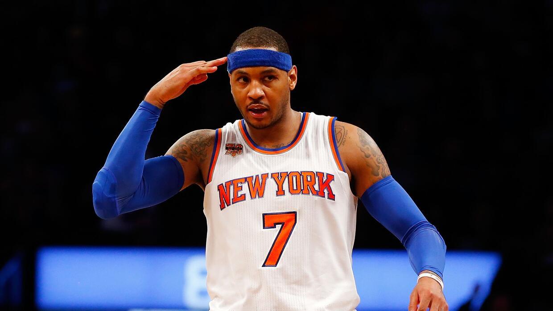 Carmelo Anthony (24,5 millones de dólares)