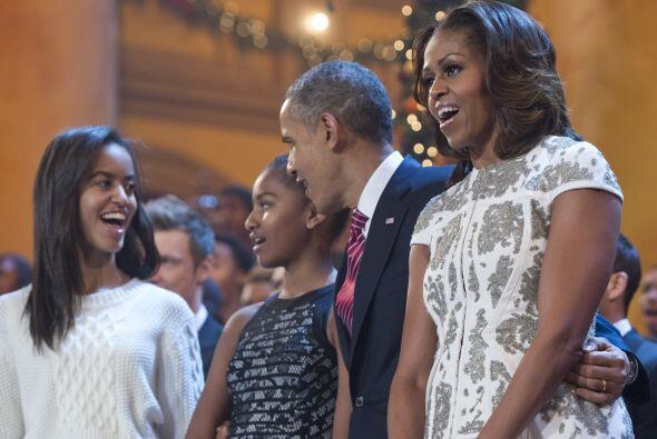 La familia Obama compartió muy emocionada el trigésimo segundo concierto...