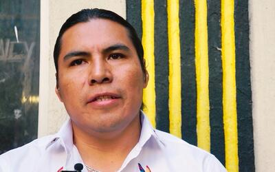 De la frontera a la radio: Segundo Angamarca
