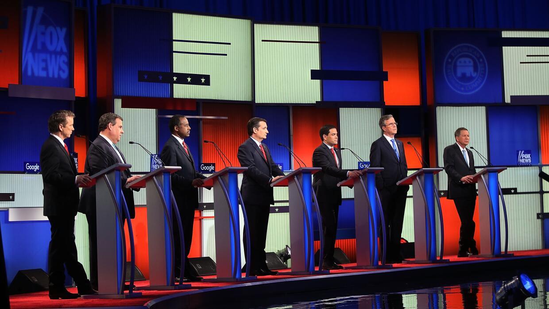 Las cinco claves del debate presidencial republicano GOP%20debate.jpg