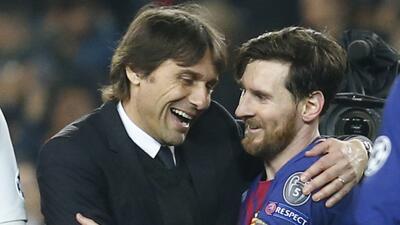 ¿Traidor? La molestia en el vestuario del Chelsea por la complicidad de Conte con Messi