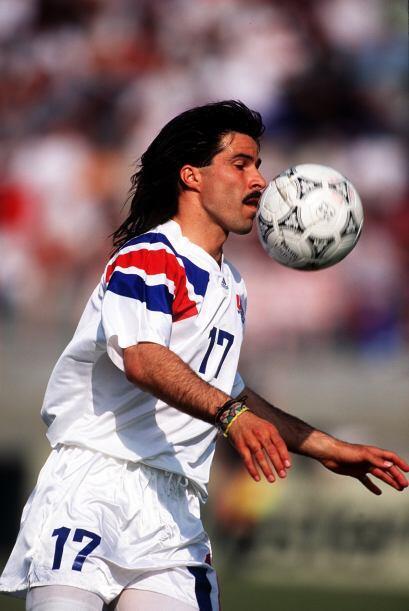 Marcelo Balboa: Primer jugador estadounidense en disputar más de 100 par...