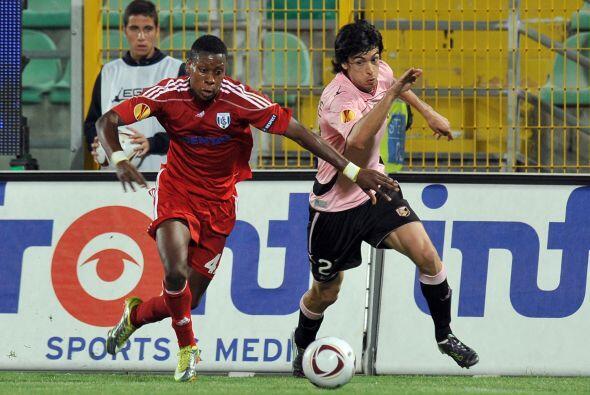 El Palermo italiano fue local en contra del Lausanna suizo.