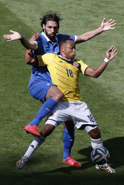 Colombia salió desde el primer minuto con mucho entusiasmo.