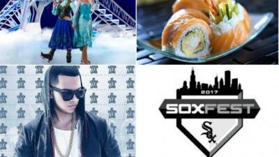 Princesas de Disney, festival de los restaurantes, el White Sox Fest y mucha música este fin en Chicago