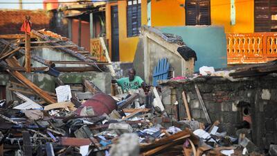 En fotos: El implacable paso del huracán Matthew por el Caribe