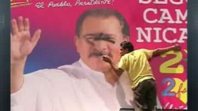 Protesta contra reelección de Daniel Ortega
