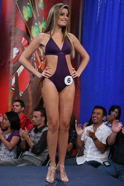 La nueva Señorita República Deportiva, Greta Jiménez, es toda una bellez...