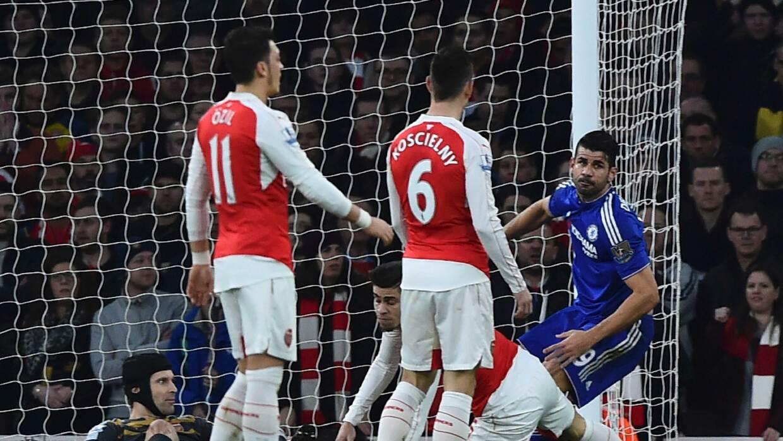 Costa y Chelsea ganan 'derby' al Arsenal