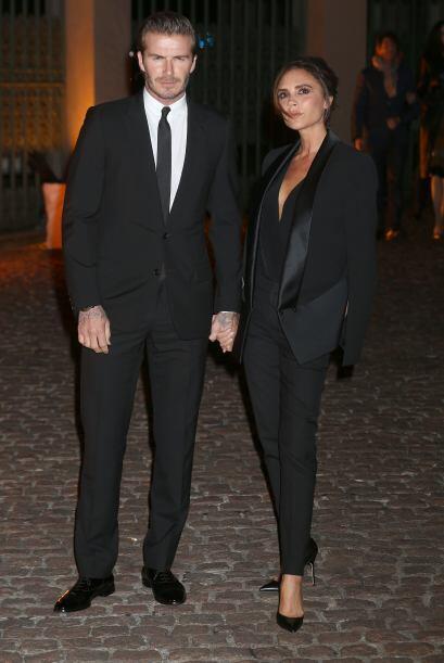La pareja británica más a la par fue David Y Victoria Beckham, a los que...