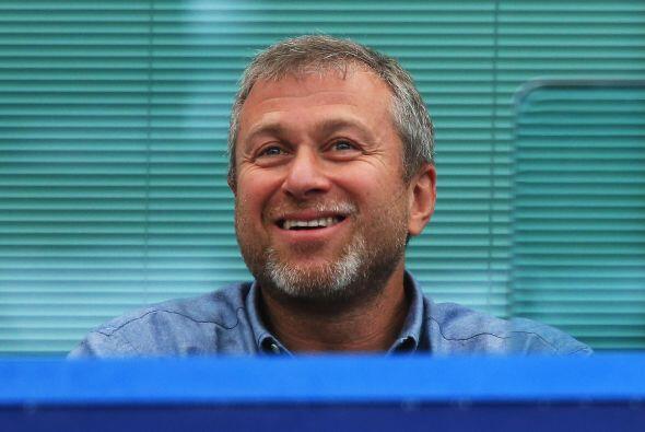 Uno de los más felices, si no es que el más feliz, era el ruso Roman Abr...