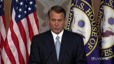 John Boehner demandará al presidente Barack Obama