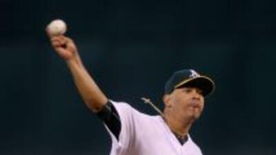 Guillermo Moscoso tuvo una sólida actuación en la lomita para controlar...