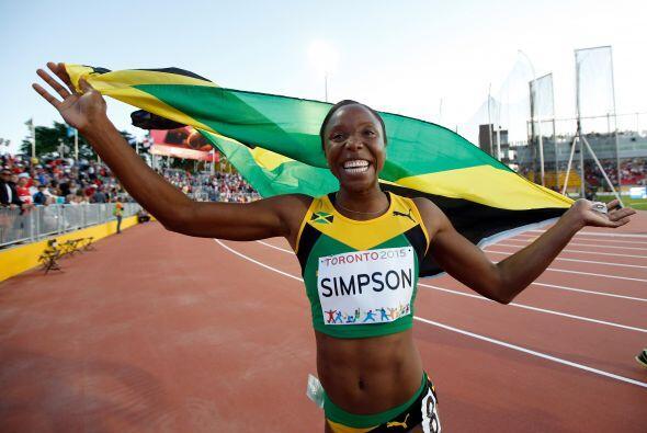 De Grasse y la jamaiquina Sherone Simpson se consagraron como rey y rein...