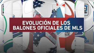 Desde diseños excéntricos a tradicionales, así ha evolucionado el balón oficial de la MLS en sus 23 años de historia