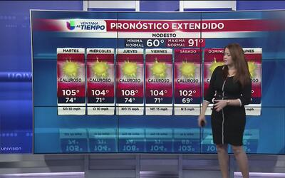 Fuerte ola de calor en el norte de California