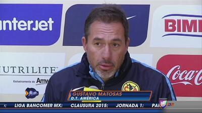 Gustavo Matosas: ''Siento mariposas en el estómago, ansiedad por debutar...