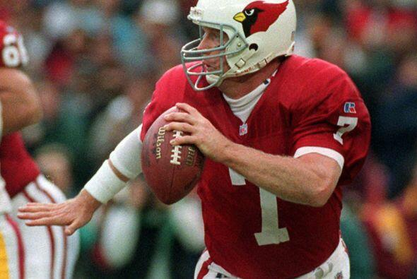 E-4. Boomer Esiason - 522 yardas: Arizona Cardinals vs. Washington Redsk...