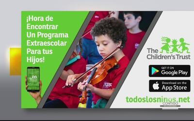 Servicios extraescolares que ofrece The Children's Trust