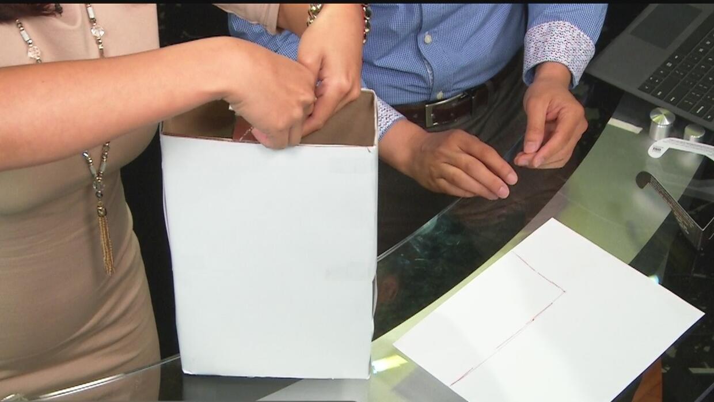 Aprende a crear un proyector del eclipse solar con una caja de cereal, h...
