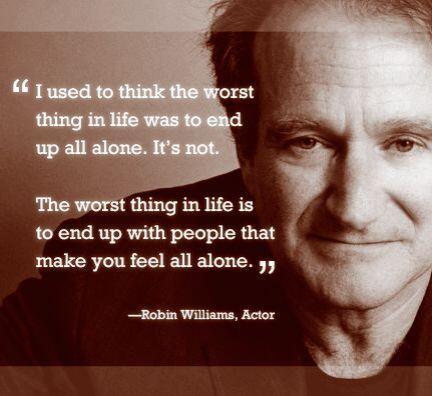 A pesar de que Robin Williams fue una persona que radiaba felicidad en l...