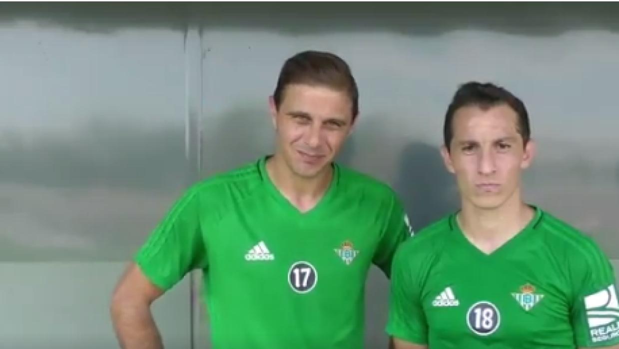 Andrés Guardado y Joaquín