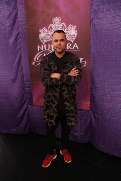 ¡Qué tal! Juan Magan posó para nosotros en el 'backstage'.