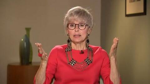 La actriz puertorriqueña Rita Moreno dice por qué el papel que interpret...