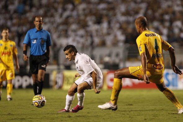 El Santos goleó en el torneo paulista con un 3-0 bien categórico al Mira...