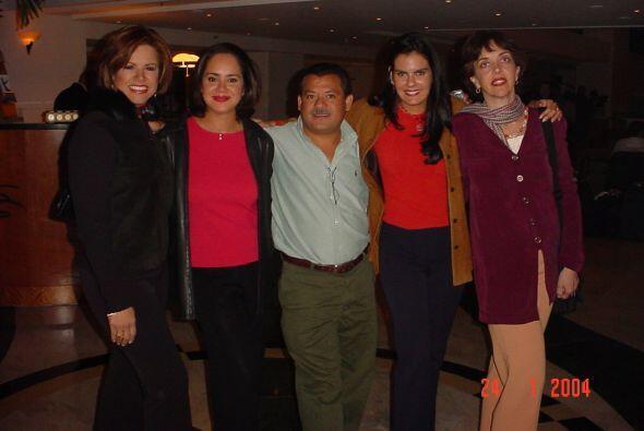 Reencuentro de Impacto durante el décimo aniversario de Primer Impacto e...