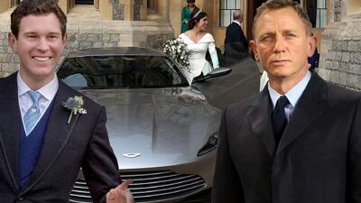 Olvídate del vestido: el super carro del novio de Eugenie que le robó el show a la princesa en su boda