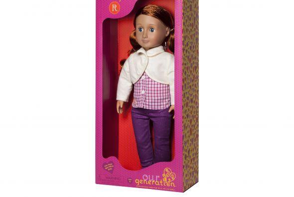 Para las niñas está la muñeca, 'Our Generation 18'...