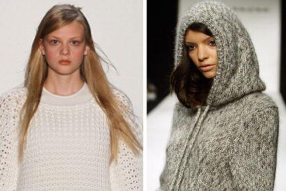 El suéter es una prenda básica para sobrevivir al frío inviernal, por es...