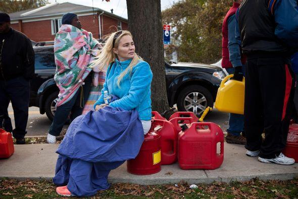 Además de los problemas en el suministro de gasolina, combustible necesa...