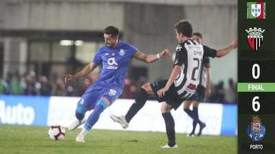 Herrera, 'Tecatito' y el Porto despedazan al Vila Real en la Copa de Portugal