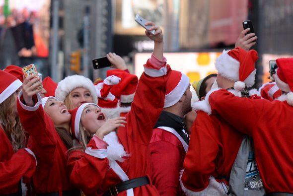 Las mejores fotos del Santacon de NY