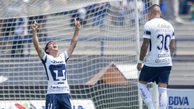 En fotos: Pumas se instaló en la Liguilla tras empatar con Querétaro