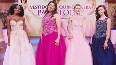 Clásicos, brillantes y espectaculares: vestidos de quinceañeras para todos los gustos