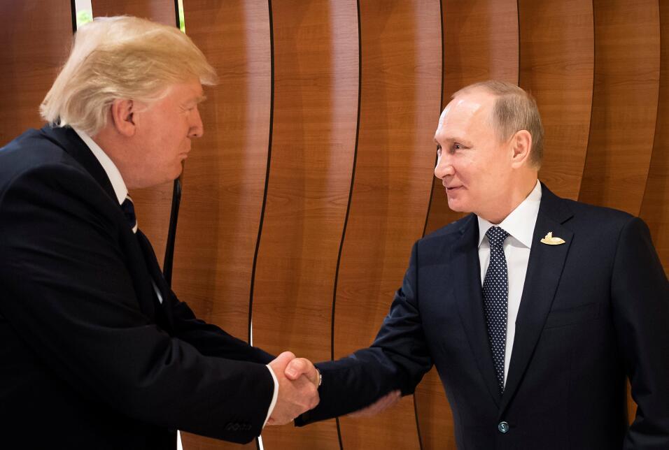 Trump Putin Europa Hamburgo