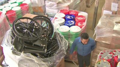 La organización Houston por México abrió dos centros de acopio en la ciudad para ayudar a los afectados por el terremoto