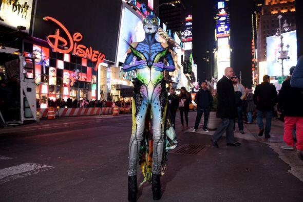 Se trata del disfraz de la modelo Heidi Klum, que nuevamente demostró po...
