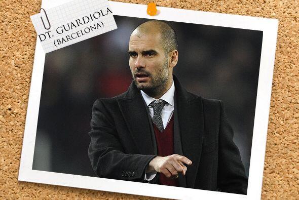 Todos ellos son dirigidos por Josep Guardiola, quien ahora sumó a sus lo...