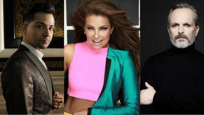 Thalía, Miguel Bosé y Luis Coronel estarán en Latin GRAMMY: conoce a los 26 presentadores