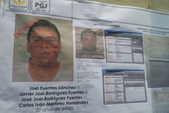 Su nombre es José Joel Rodríguez Fuentes. Los agentes indicaron que cuen...