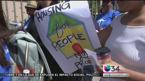 Residentes se unen contra aumento de renta y desalojos